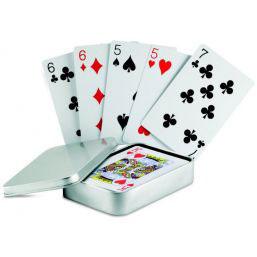 Speelkaarten met logo