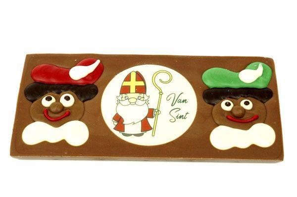 Chocolade tableau sinterklaas