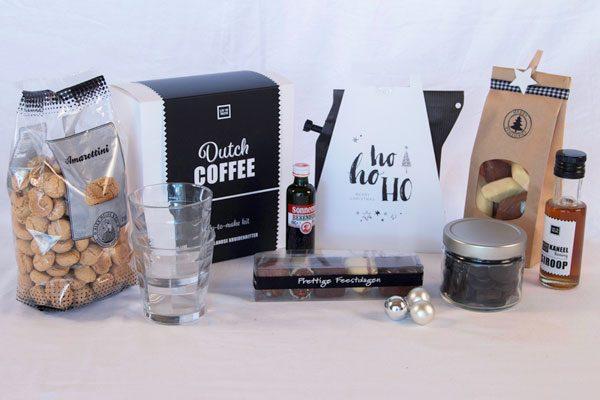 Kerstpakket op maat gemaakt koffie