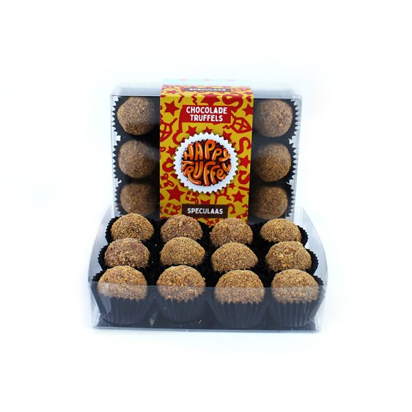 Chocolade truffels speculaas 12 stuks