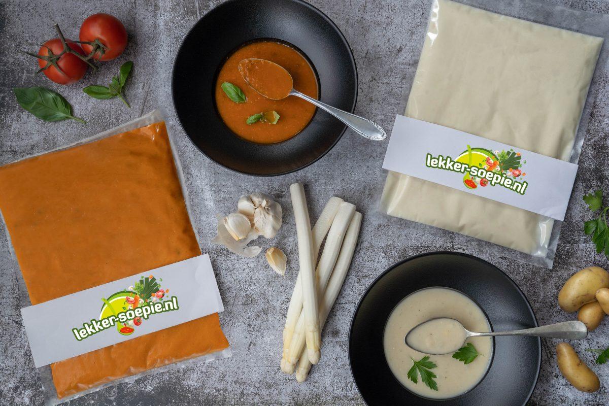 Lekkersoepie tomaat en asperge