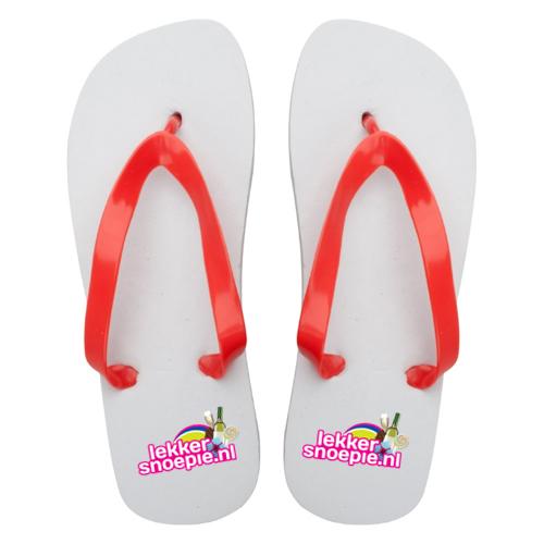 Slippers met logo