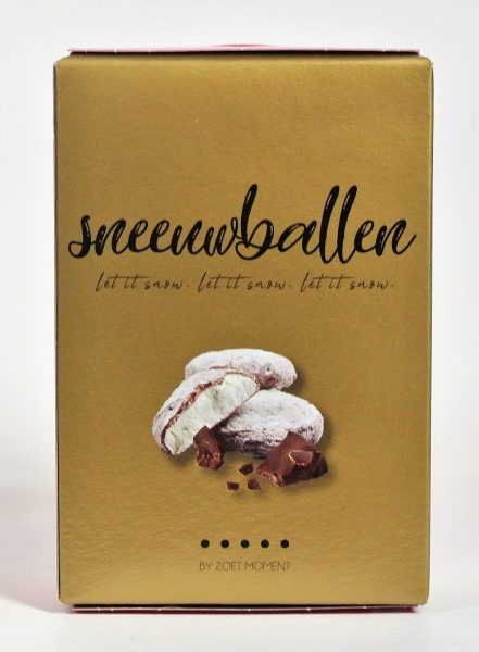 Chocolade sneeuwballen