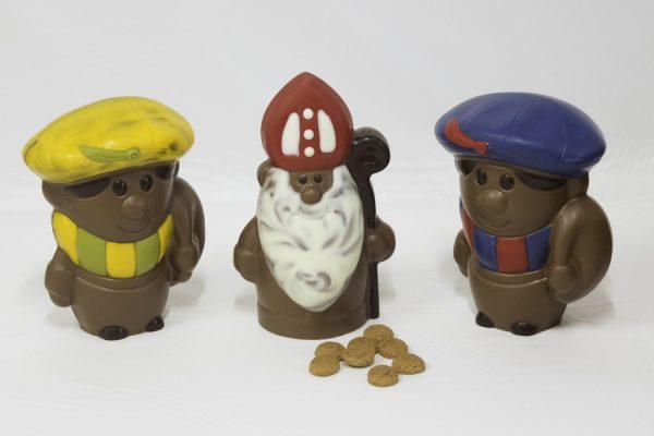 Chocolade sinterklaas en pieten