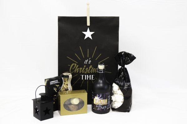 Kerstgeschenk in luxe verpakking