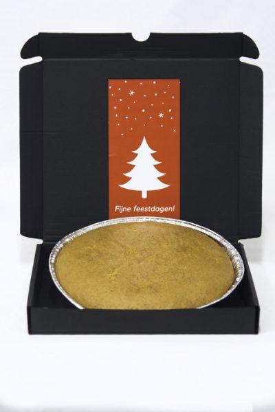 Brievenbusgeschenk kerstcake