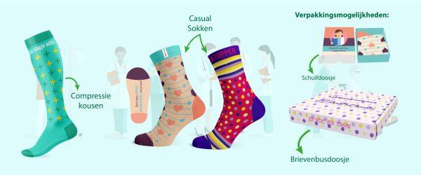 Dag van de zorg sokken