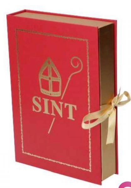 Boek van Sint geschenkverpakking