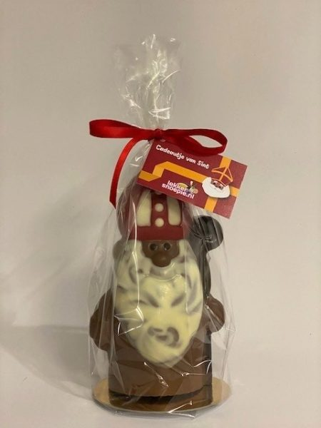 Sint chocolade figuur