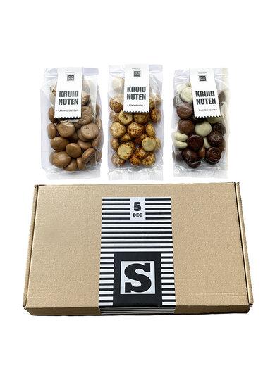 Chocolade kruidnoten brievenbusgeschenk