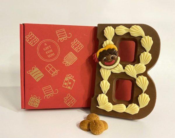 Rood Gift for you brievenbusdoosje Sint