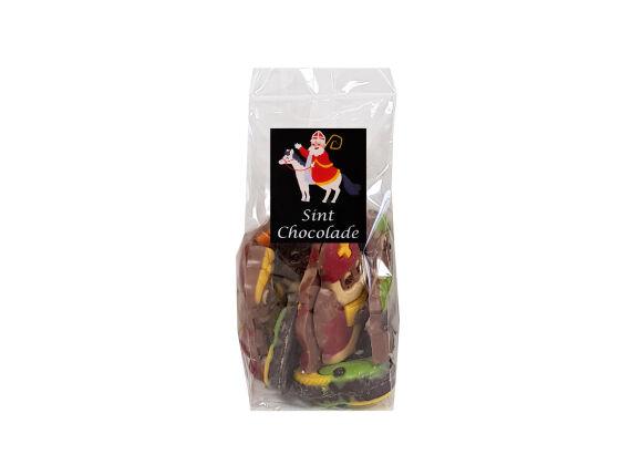 Sint choco gekleurd zakje 115 gram