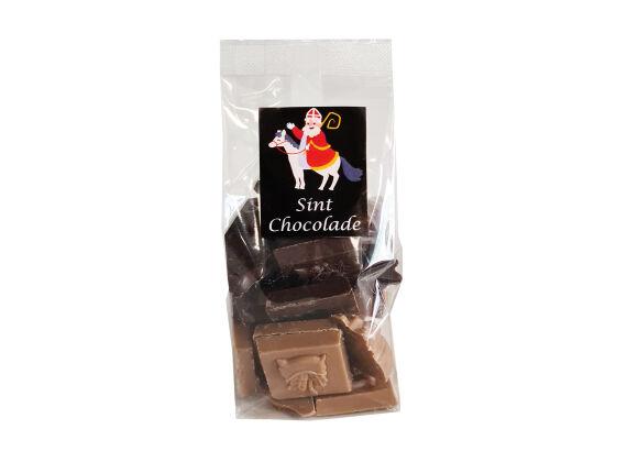 Sint chocolade 150 gram melk en puur