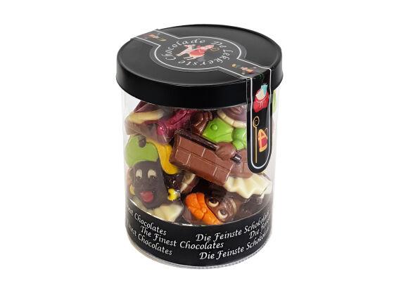 Sint silo gekleurde chocolade 250 gram