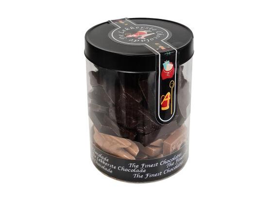 Sint silo chocolade mix puur melk 275 gram