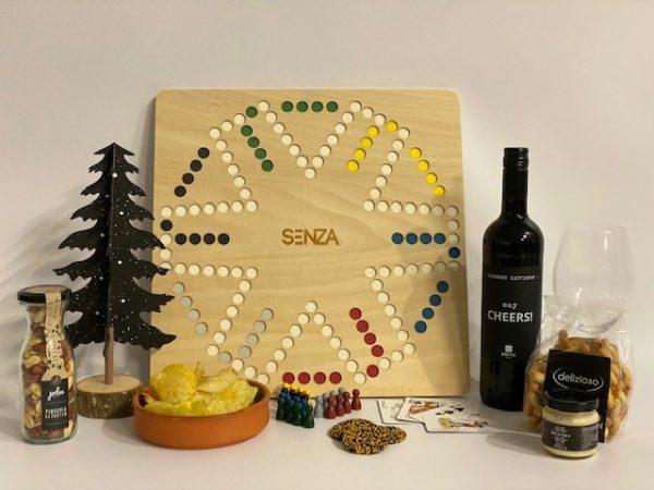 Kerstpakket met spel